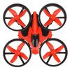 Quadcopter, Bangcool Control Toys Mini RC Quadcopter Drone 6 Axis Gyro Explorer UFO for Boys Men Description:Item name: NH010 Mini QuadcopterQuadcopter size: 95*95*50mm(3.74*3.74*1.97in)Box size: 140*180*55mm(5.51*7.09*2.17in)Gyro: 6-axisFrequency: 2.4GChannel: 4CHBattery: 3.7V (150MAH) (included)Flight time: about 5 minutesCharging time: 30 ~ 50 minutesFlying distance: 30 meters(98.43ft)Package includes: 1 x Plane, 1 x remote control, 1 x USB cord, 1 (set)x blade, 1 x manualFunction: up / down / left turn / right turn / forward / back / left side fly / right side fly / speed file/ 360 ° flip/ a key return / headless mode / memory functionPackage Including1 x Plane, 1 x Remote control, 1 x USB cord, 1 (set) x Blade, 1 x Manual