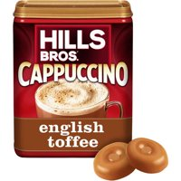 Hills Bros. English Toffee Cappuccino Instant Coffee Mix, 16 Ounce Canister