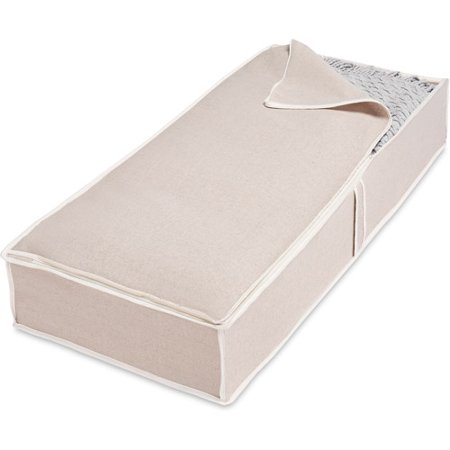 Whitmor Linen Underbed Storage Bag