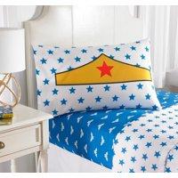 Warner Brothers Wonder Woman 'I'm Wonder Woman' Bedding Sheet Set