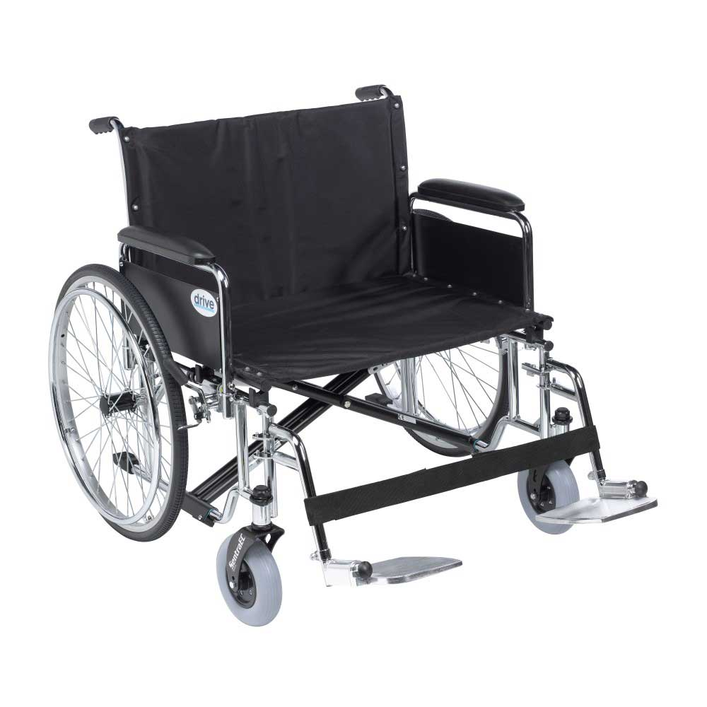 Drive Medical Sentra EC With Full Arm and Footrests 30""