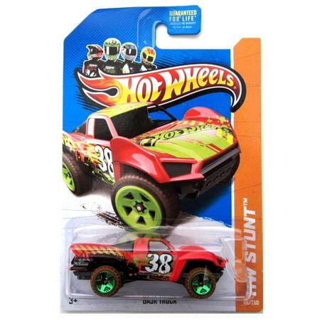 Hot Wheels HW Stunt Baja Truck Red #86/250, 1:64 By Mattel