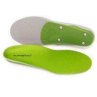 Superfeet wideGREEN High Arch Orthotic Insoles for Wide Feet Extra Wide Shoes, Unisex, Green