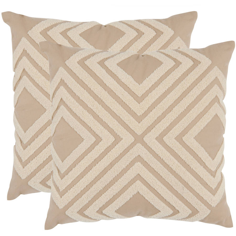 Safavieh Stella Geometric Pillow, Set of 2