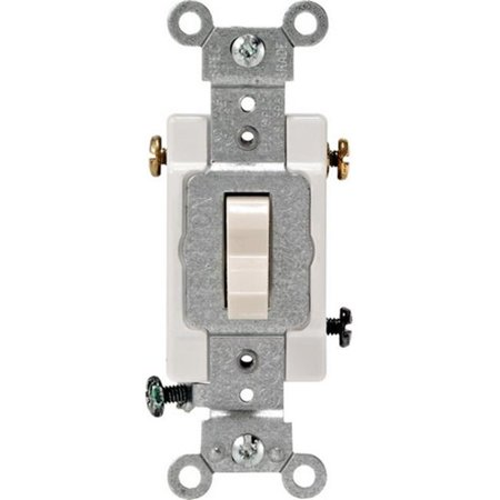 Leviton CS315-2TS 15 amp 3 Way Commercial Quiet Toggle Switch - image 1 of 1