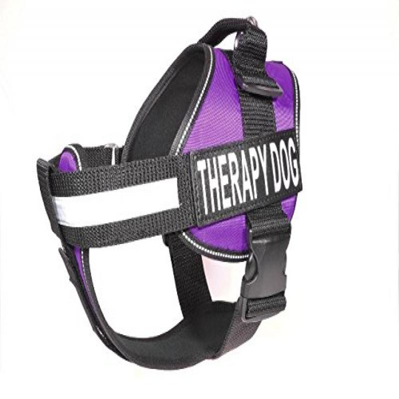 "Unimax Multi Purpose Dog Harness Purple M 22""-30"""