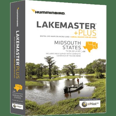 Humminbird 600009-6 Lakemaster+ Maps, Mid-South