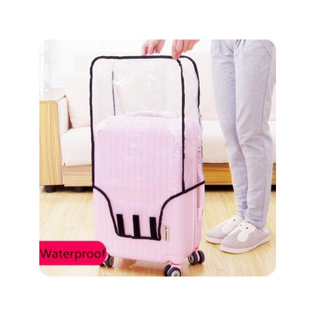 20/22/24/26/28 inch Suitcase Luggage and Travel Bags Clear Cover Anti-scratch Dustproof Protector Fits Waterproof For Home