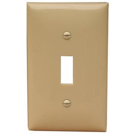 Ivory Hd15 Wall Plate (Lexan Wall Plates 1 Gang Oversize Toggle Switch Ivory)