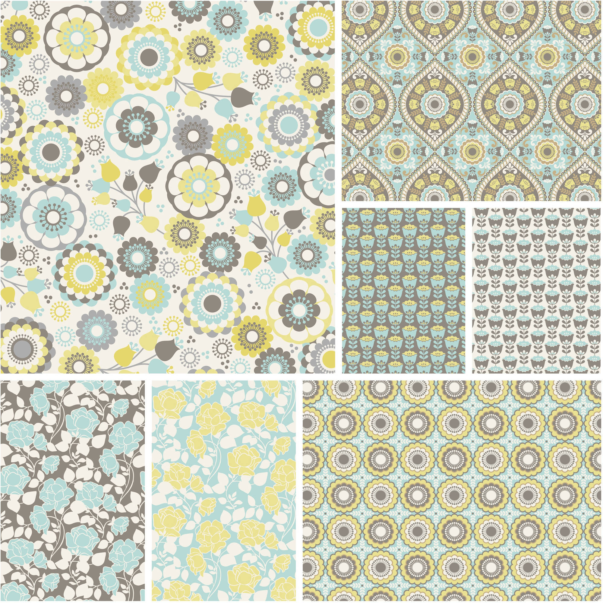 "David Textiles Happiness Collection 44"" Quilting Cotton Fabric By The Yard"