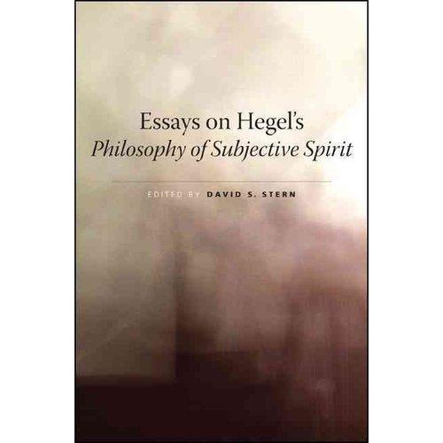 Essays on hegel
