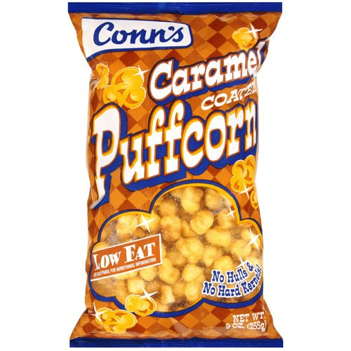 Conn¬タルs Caramel Coated Puffcorn, 9 oz