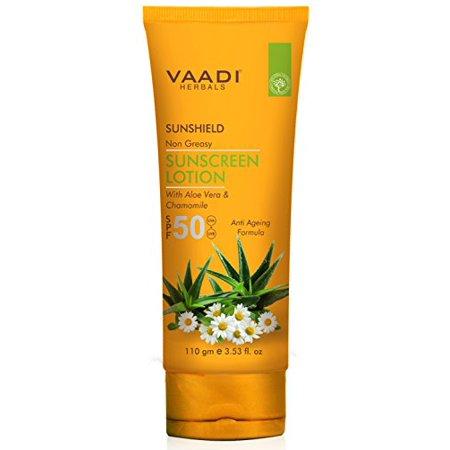 Vaadi Herbals Sunscreen Lotion SPF-50,