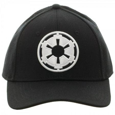 Flex Hat Cap (Baseball Cap - Star Wars - Imperial Flex Cap New Hat Licensed bx3n1estw )