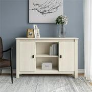 Ameriwood Home Anna Storage Cabinet, Ivory Oak