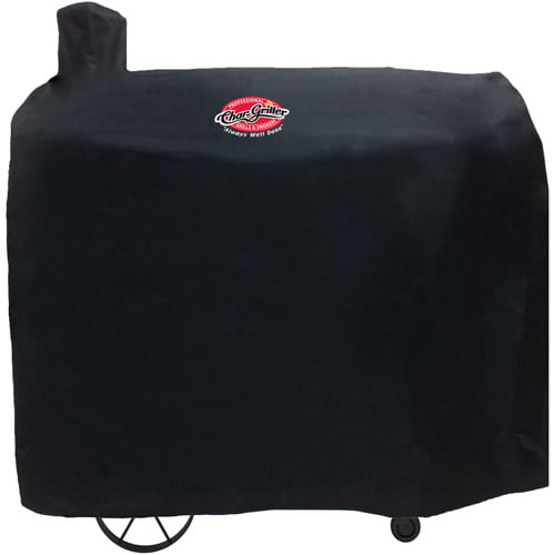 Char-Griller Polyester Pellet Grill Cover, Black, 9155 by A & J Manufacturing