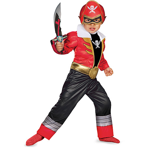 "Power Rangers ""Red Ranger"" Toddler Halloween Costume"