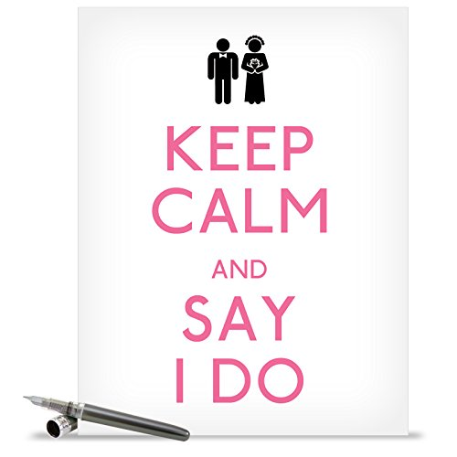 """J1463 Jumbo Hilarious Wedding Card: 'Say I Do Wedding' with Envelope (Extra Large Size: 8.5"""" x 11"""")"""