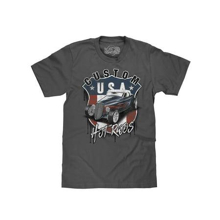 - Bear Run Clothing Co. USA Custom Hot Rods Car Graphic T-Shirt