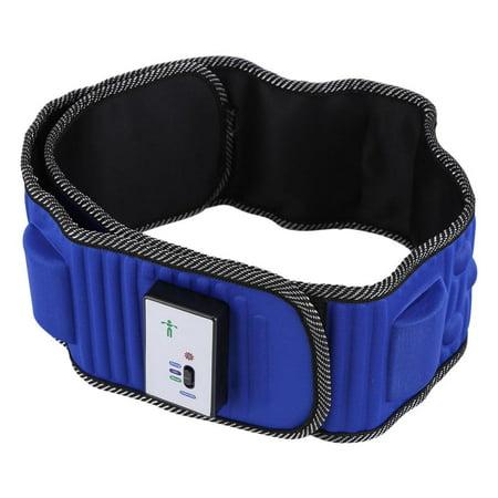 Dilwe Electric Vibrating Massager 5 Motors Slimming Belt Burning Fat Weight Losing Vibration Health C,Massager, Fat