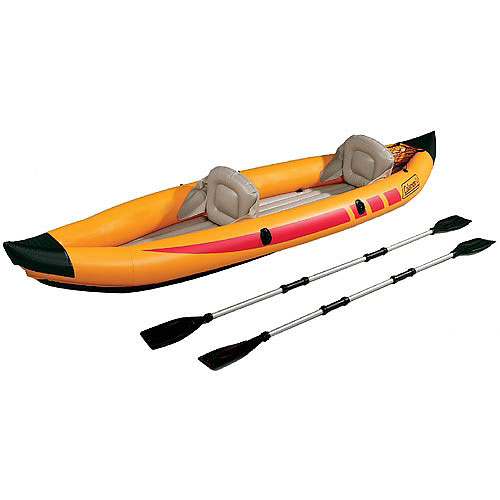 Coleman 2-Man Inflatable Touring Kayak With Paddles
