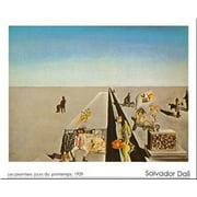 I Primi Giomi Di Primavera by Salvador Dali 24x31 Art Print Poster