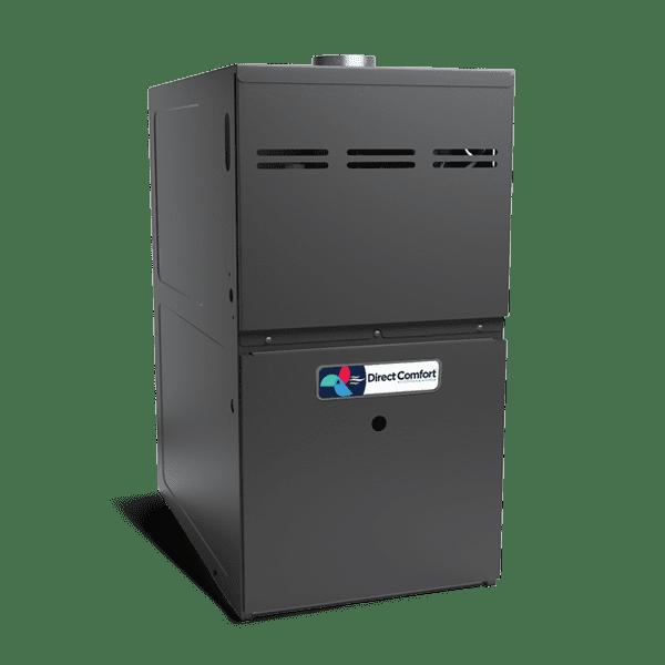 "HVAC Direct Comfort by Goodman DC-GMVC Series Gas Furnace - 80% AFUE - 100K BTU - 2 stage - Upflow/Horizontal - 21"" Cabinet"