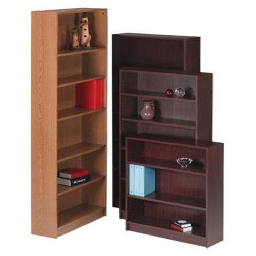"Hon 1870 Series Bookcase - 36"" X 11.5"" X 36.1"" - Hardboard, Wood, Particleboard - 3 X Shelf[ves] - Stain Resistant, Abrasion Resistant, Leveling Glide - Mahogany (1872N)"