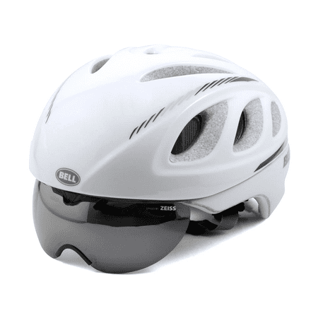 bell pro road bike helmet eye shield small 52 56cm