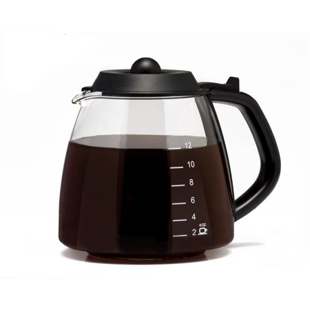 - Cafe Brew Universal Replacement Glass Coffee Carafe - 12 CUP, 1.0 CT
