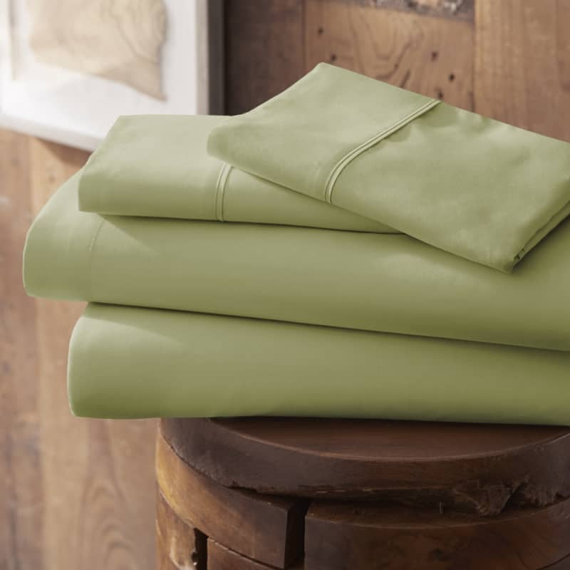 Merit Linens Modern Luxury Soft 4 Piece Deep Pocket Bed Sheet Set - Twin - Taupe