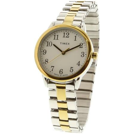 Timex Women's Easy Reader TW2R58800 Gold Stainless-Steel Japanese Quartz Fashion Watch (Timex Wristwatch)