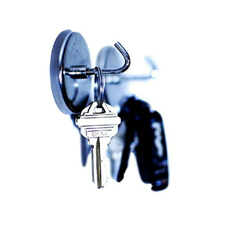 1.5 Inch Open Hook - 1.5 Inch Magnetic Hooks - 2 Piece Set