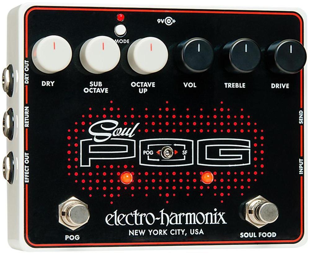 Electro-Harmonix Soul POG Multi-Effects Guitar Pedal by Electro-Harmonix