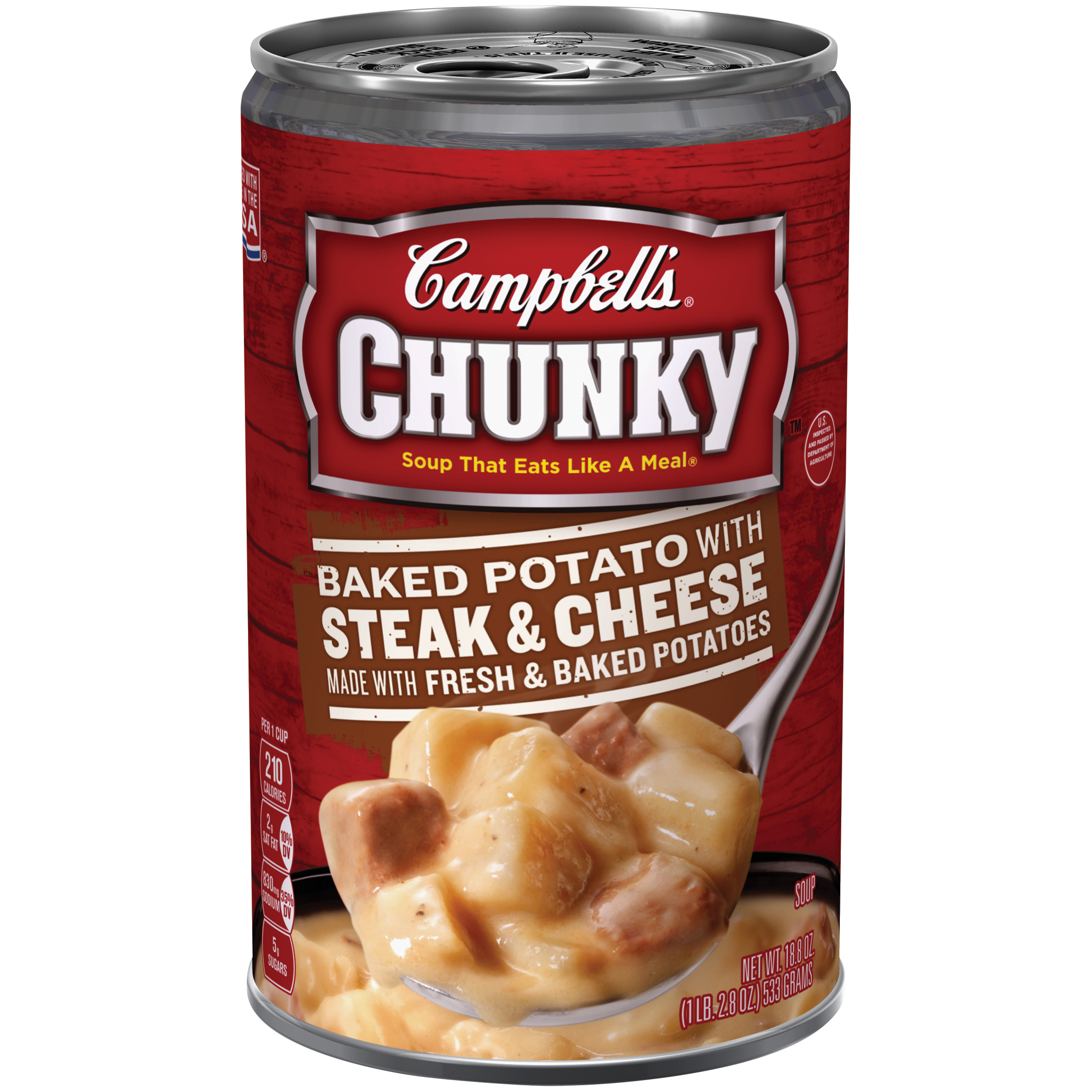Campbell's Chunky Baked Potato with Steak & Cheese Soup 18.8oz