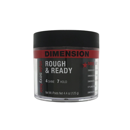 Style Sexy Hair Rough & Ready Dimension with Hold 4.4 oz - Hair Styles For 50s