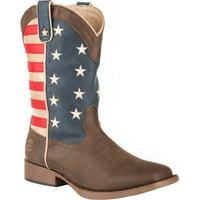 Roper Mens American Patriot  Western Western Shoes -