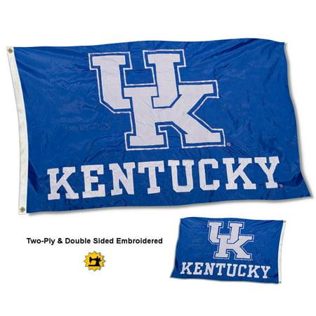 Kentucky UK Wildcats New UK Logo 3' x 5' Two Sided Nylon Flag