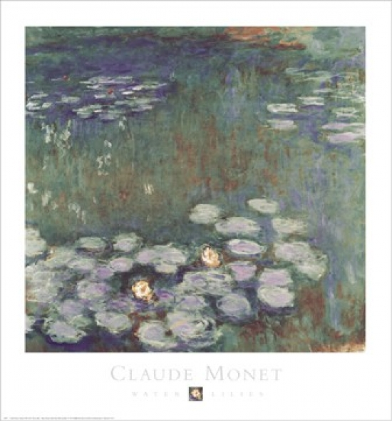Water Lilies Poster Print by Claude Monet (27 x 29)