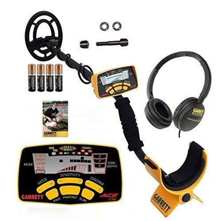 Garrett ACE 250 Metal Detector with Submersible Search Coil Plus