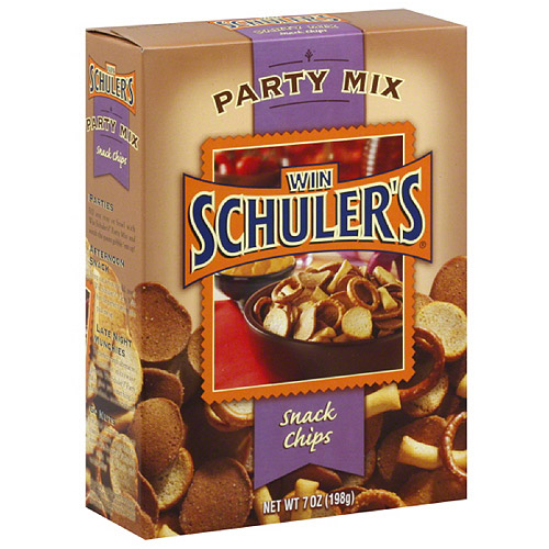 Win Schuler's Party Mix Snack Chips, 7 oz, (Pack of 12) by Generic