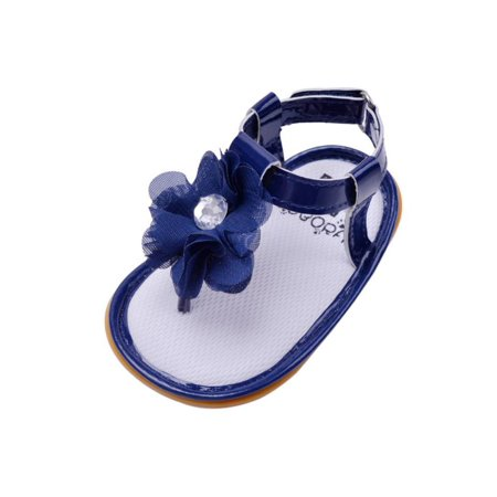 0109b3bf0 Marainbow - Marainbow Infant Baby Girls Shoes PU Flower Summer Sandals Soft  Sole Crib Shoes for Kids Toddler Girl 0-12M - Walmart.com