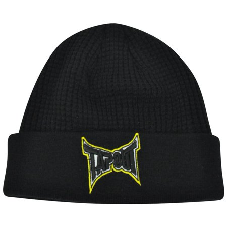 Ufo Cap - Tapout MMA UFC Cage Fighting Knit Beanie Winter Cuffed Acrylic Hat Toque Skully
