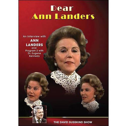 The David Susskind Show: Dear Ann Landers (Full Frame)
