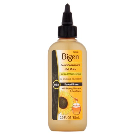 Hoyu Bigen Db2 Darkest Brown Semi Permanent Hair Color  3 0 Fl Oz