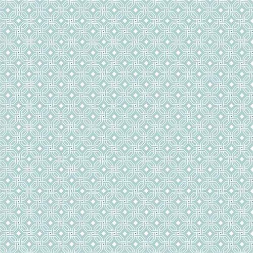 Waverly PR Cubes Glacier Cotton Fabric by the Yard