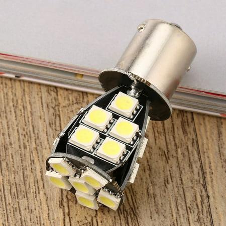 1156 BA15S SMD 5050 Amber /White CANBUS OBC No Error Car LED Light Bulb - image 6 de 8
