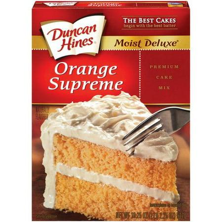 Walmart Orange Cake Mix