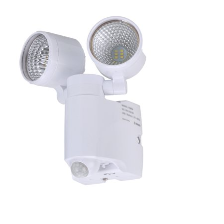 security battery brinks led battery operated portable motion security light white
