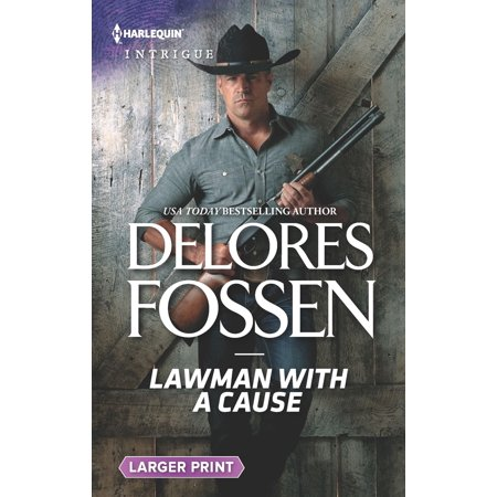 - Lawmen of McCall Canyon: Lawman with a Cause (Paperback)(Large Print)